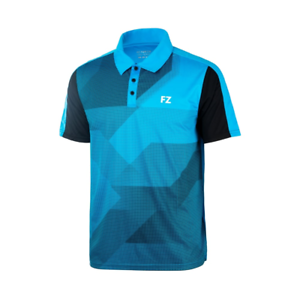 Malibu blue Mens /& junior sizes FZ Forza Portand Badminton Polo shirt
