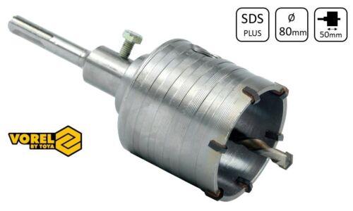 Bohrkrone Dosenbohrer SDS Plus 65 mm 80 mm Bohrhammer Steckdose Schalter