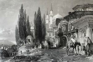 Turkey-Emir-Sultan-Brusa-at-Istanbul-Constantinople-Turkiye