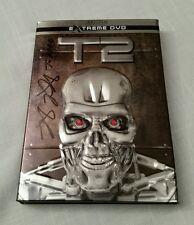 TERMINATOR 2 Judgement Day - Signed by Robert Patrick (T-1000) DVD Steel Case