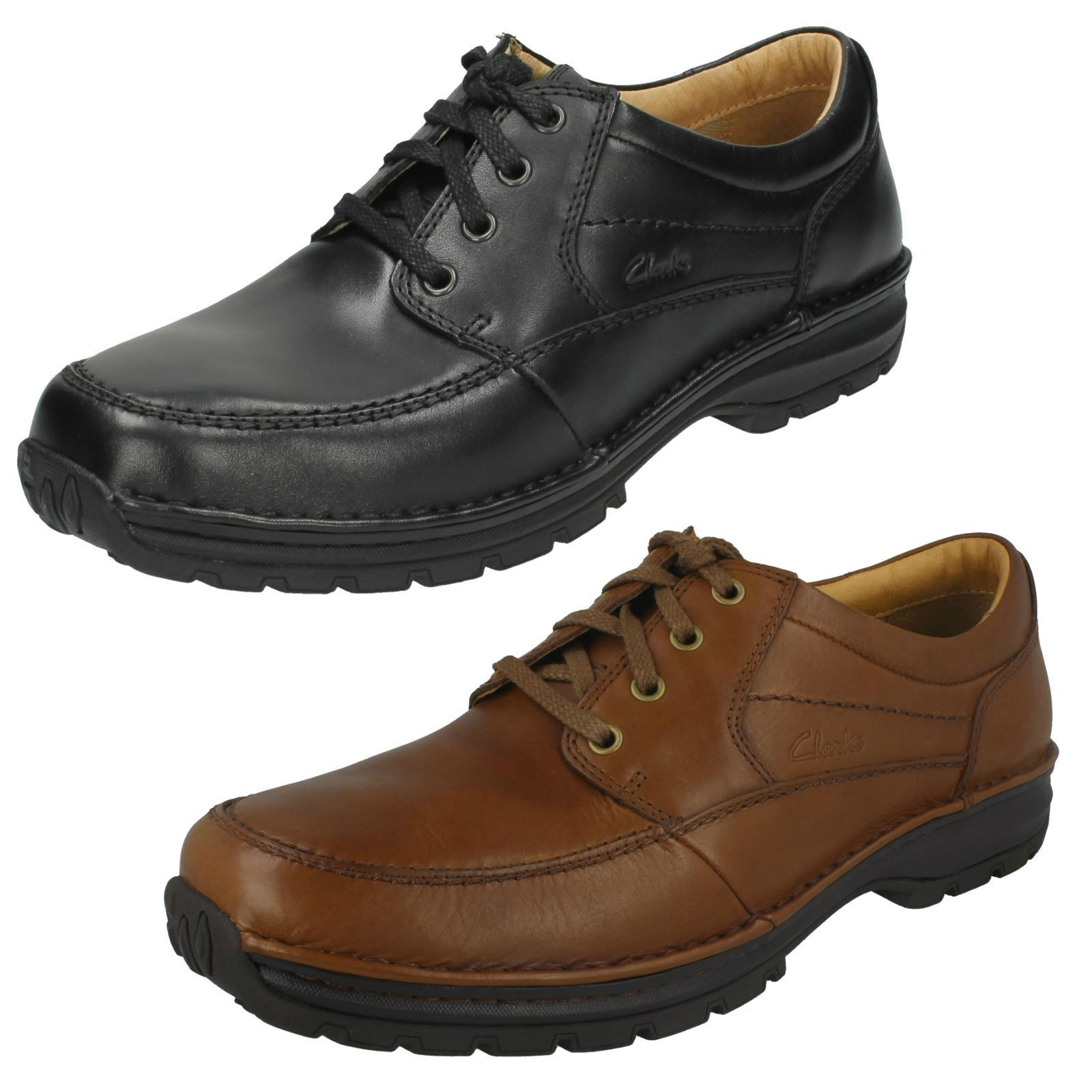 Mens Clarks Casual Lace Up schuhe 'Sidmouth Way'