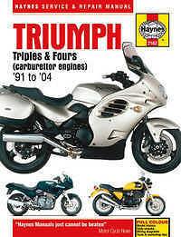 triumph thunderbird 900 haynes manual repair manual workshop manual rh ebay com triumph thunderbird workshop manual triumph thunderbird 900 workshop manual download