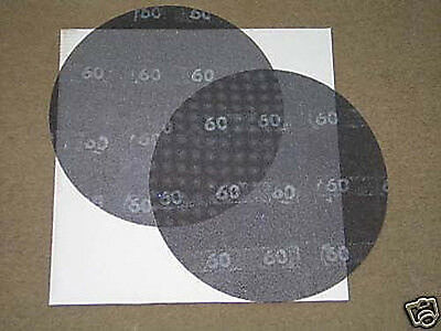 "Boardwalk 50206010 Sanding Screens 60 Grit 20/"" Diameter Case of 10 Black"