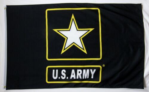 Army Star Emblem Flag 3/' x 5/' Indoor Outdoor Offically Licensed Banner U.S