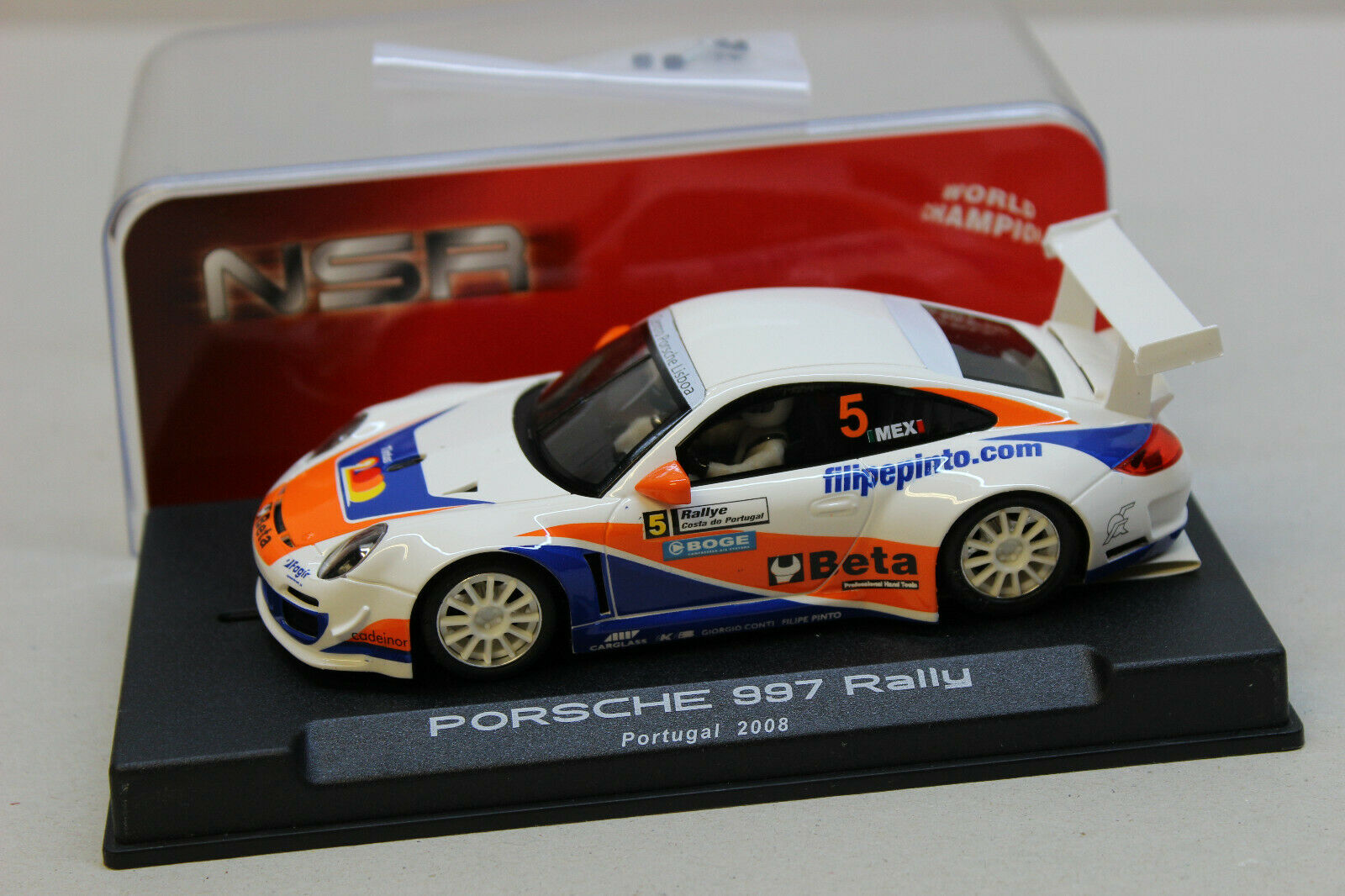 NSR Porsche 997 Rally Portugal 2008 Ref 1061 AW   neu