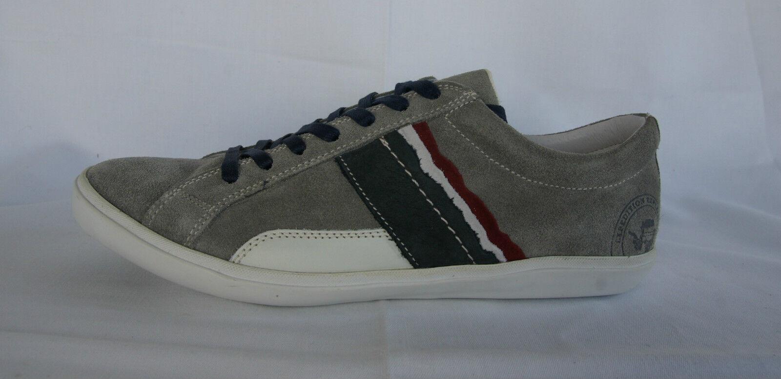 Napapijri talla 41 7 zapatillas schnürzapatos sven zapatos gris nuevo ex. PVP