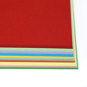 Tarjeta De Color Hojas De A4 240gsm para cardmaking papel scrapbooking /& Crafts