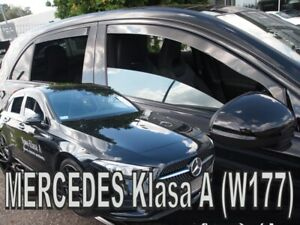 MERCEDES-A-W177-2018-5-doors-HATCHBACK-Wind-deflectors-4-pc-HEKO-23609
