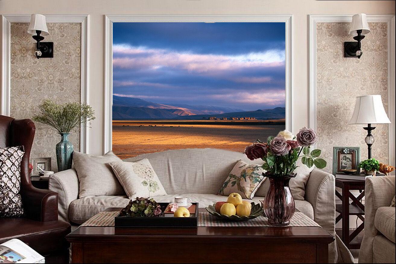 3D Der weite Himmel und erde Fototapeten Wandbild Fototapete BildTapete Familie