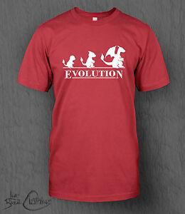 b2be2b9554 La imagen se está cargando Camiseta-Pokemon-Evolucion-Camiseta -de-hombre-Nintendo-Charmander-