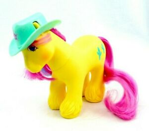 My-Little-Pony-MLP-G1-Vtg-1987-BIG-BROTHER-Boy-TEX-Clydesdale-Cactus-Hasbro