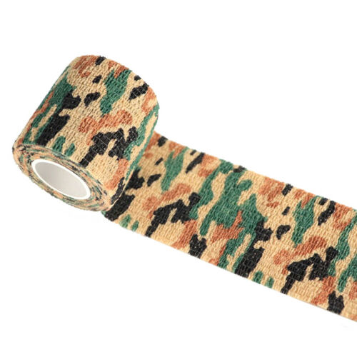4.5m Outdoor Camo Hunting Waterproof Camping Camouflage Stealth Tape Wrap Surpri