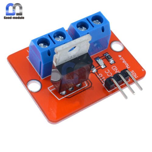 2PCS MOSFET Button IRF520 MOSFET Driver Module for Arduino ARM Raspberry pi GM