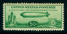 U.S. 1933 AIRMAIL - Baby Zeppelin  50c green Scott# C18 mint MNH** VF stamp refA