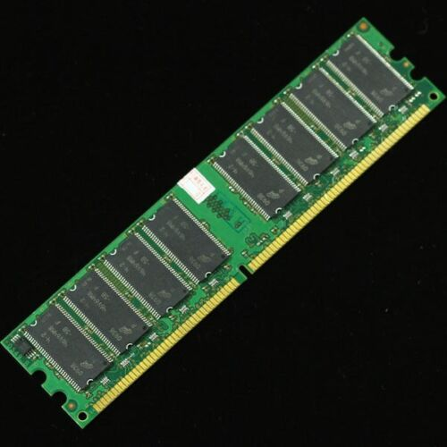 1GB PC2700 DDR333 Non-Ecc Low Density 184-pin DIMM Desktop Memory LOT of 10!