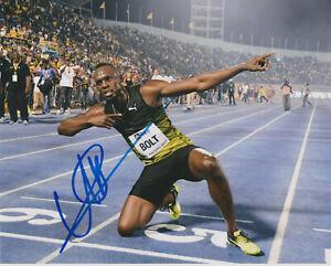 USAIN BOLT Jamaica Runner Olympics Gold Fastest Man SIGNED ...