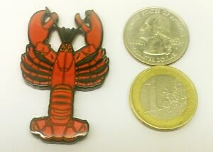 ~ North Atlantic Lobster Geocoin Ready to Eat Red Dorkfish Unactivated