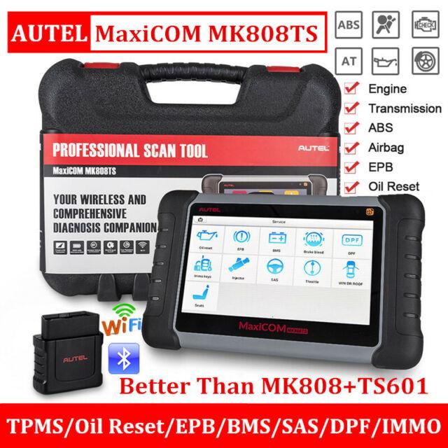 Autel MaxiCOM MK808TS Diagnostic Scanner TPMS Reset Programming Tool=MK808+TS601