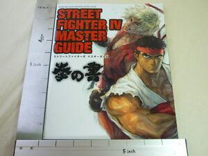 STREET-FIGHTER-IV-4-Master-Guide-Ken-no-Sho-Neo-Geo-Book-EB31