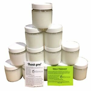 Organic Virgin Coconut Oil 12-pack Bulk, 192 Fl Ounces/6 quarts (12pcs of 16 Fl