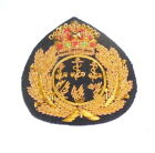 Royal Yacht Squadron UK Club RMS HMS Navy Sea Cap Hat Badge Captain Officer Sea