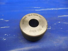 12515 Class Xx Master Plain Bore Ring Gage 12500 015 Oversize 13 Mm 4927