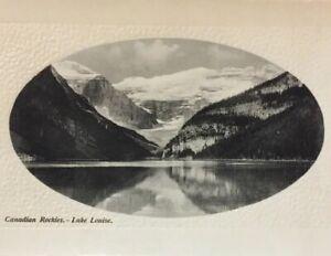 Postcard-Rockies-Lake-Louise-Glosso-Series-Alberta-Canada-Vintage-P23
