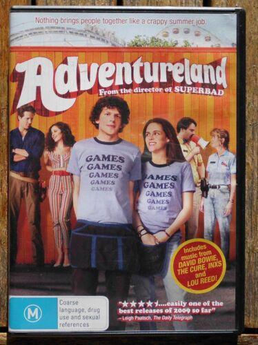 1 of 1 - ADVENTURELAND  Region 4 DVD   Jesse Eisenberg, Kristen Stewart             (301)