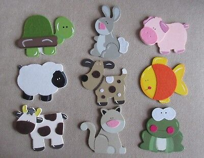 Friendly Dovecraft Common Creatures Wooden & Felt Shapes Waterproof Shock-Resistant And Antimagnetic