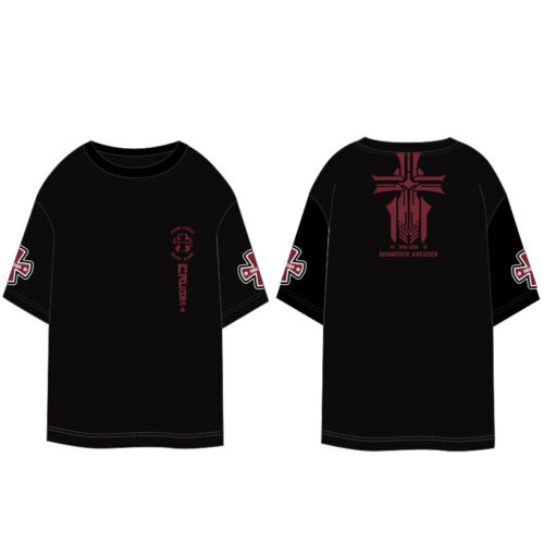 Anime Azur Lane Prinz Eugen Schwerer Kreuzer Men/'s Summer Short Sleeve T-Shirt