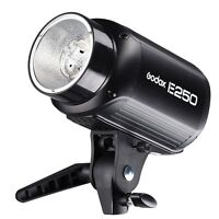 Godox Pro E250 250W USB Studio Strobe Lighting Flash Light Lamp Head 110V /220V