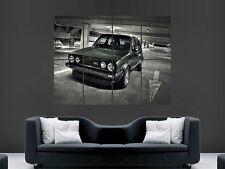 VW GOLF MK1 VOLKSWAGEN CAR   HUGE LARGE WALL ART POSTER PICTURE