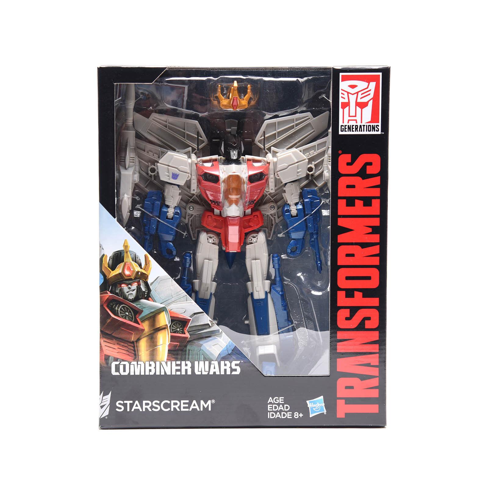 NEW ARRIVAL Transformers Combiner Wars Leader Starscream