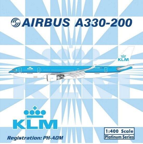 Phoenix Models 1 400 KLM A330-200 PH-AOM très rare
