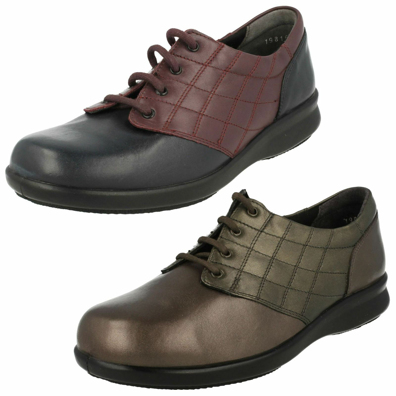 Femmes Easy B Lacets Chaussures-Sizzle