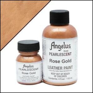 Angelus Acryl Lederfarbe Pearlescent Rose Gold (456) 29,5ml (20,17€/100ml) Leder