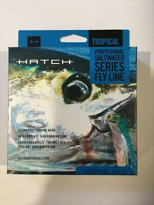 HATCH SALTWATER TROPICAL INTERMEDIATE 500G FLY FISHING LINE