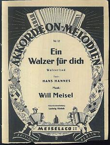 Will-Meisel-034-Eoin-Walzer-duer-Dich-034-Walzerlied