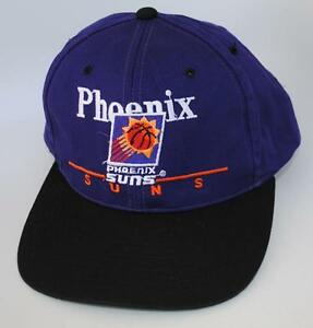 Details about NBA PHOENIX SUNS One Size Snapback Purple   Black TWINS  Baseball Cap Hat a3444024be4