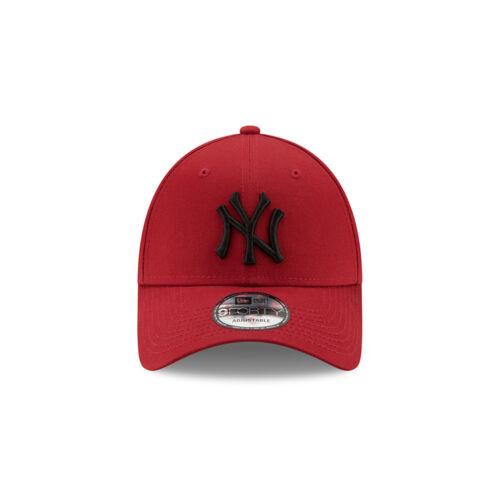 NEW ERA 9FORTY BASEBALL CAP.NEW YORK YANKEES MLB RED COTTON STRAPBACK HAT 9S1 74