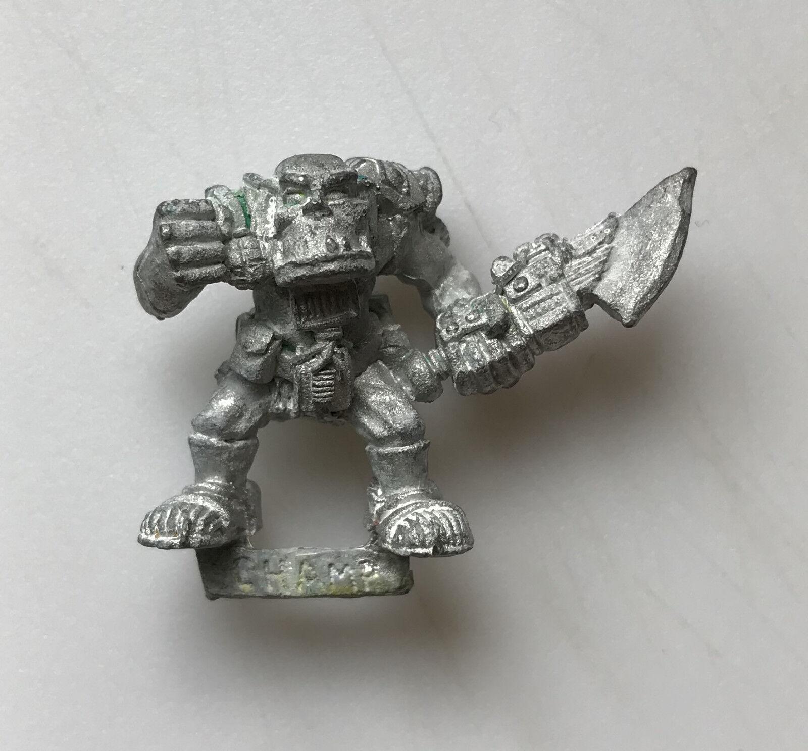 Citadel GW WARHAMMER WARHAMMER WARHAMMER 40K Rogue Trader espacio Ork Raiders Classic Metal tropas e721e2