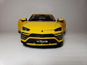 NEW-Maisto-1-18-Diecast-Model-Lamborghini-Urus-Yellow