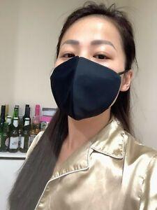 Face-Mask-black-cotton-handmade-washable-reusable-Australia-stock