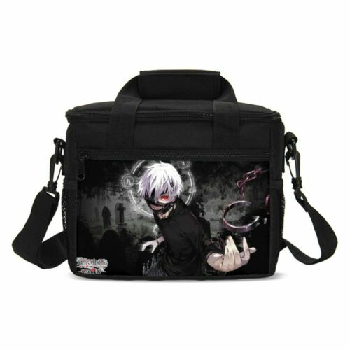 Tokyo Ghoul Anime Kids Backpack School Bag Insulated Lunch Bag Pen Case Lot