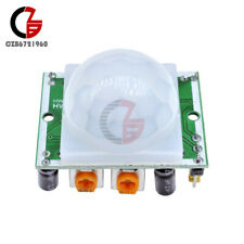 10pcs Adjust Pyroelectric Infrared Ir Pir Motion Sensor Detector Module New