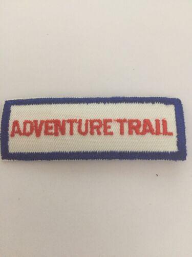 Boy Scout Adventure Trail Patch