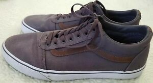Vans Off The Wall Men s Size 11.5m Skateboard Sneakers 500714 Gray ... 39ca7a31790