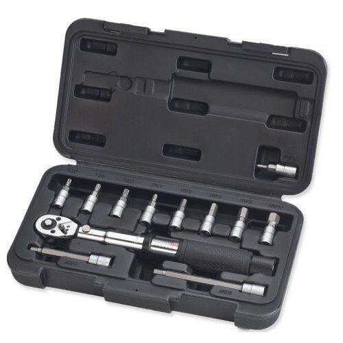 Fast Shipping RC Q580 Bike Torque  Wrench Tool Box Set 1 4  2-24NM with NM Lock  envio rapido a ti