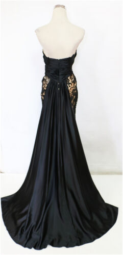 Black Prom 4538 78439m Nwt Mac Duggal Gown Pageant Evening 0wO8XPNnk