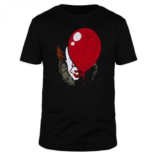 Pennywise Balloon Es Derry All Float Down Halloween Steven Horror King Shirt